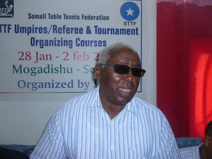 Somali NOC president Aden Hajji