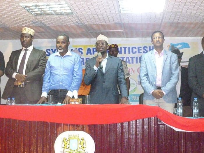 Somali President, Sheik Sharif Sheik Ahmed