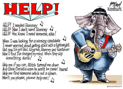 Republicans Reprise The Beatles, In Search Of None Of The Above