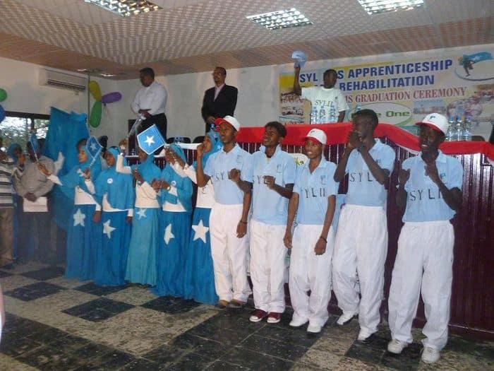 SYL II graduates.