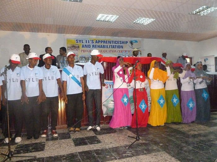 Somali Youth League II students.