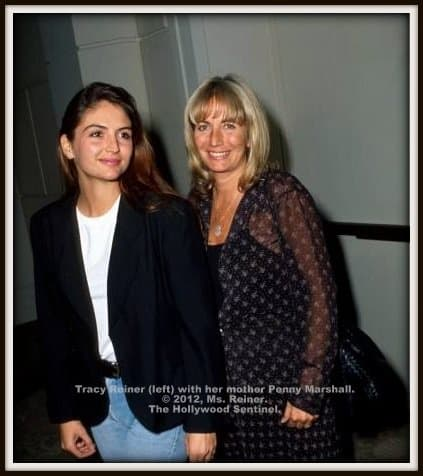 Tracy Reiner with Penny Marshall