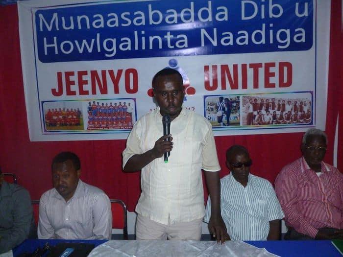Somali FA president