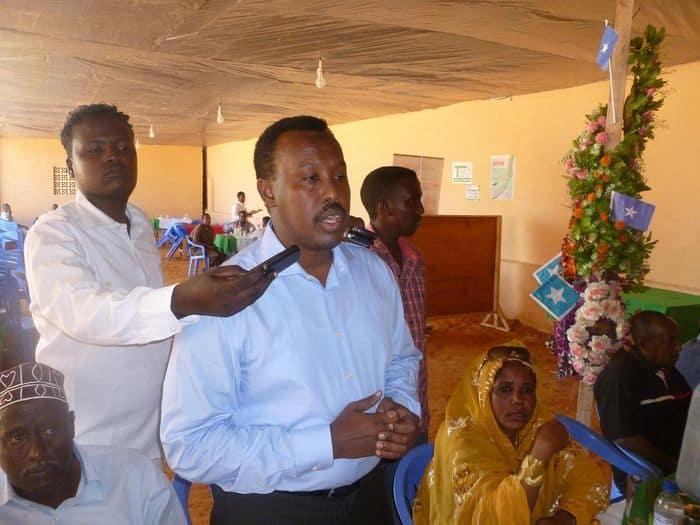 Somali FA secretary General Abdi Qani Said Arab