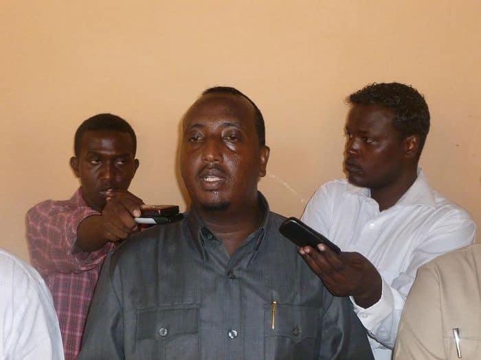 Somali SPorts Minister Mohamed Mohyaddin Mursal