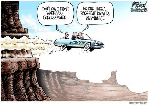 Congress Drives Economy Over Precipice, Ignores Warnings