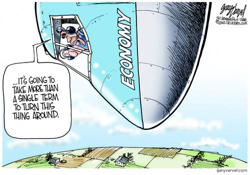 Obama Discovers Flight Training Not So Easy