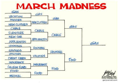 Gotta Love March Madness - Its About Something Different This Year...