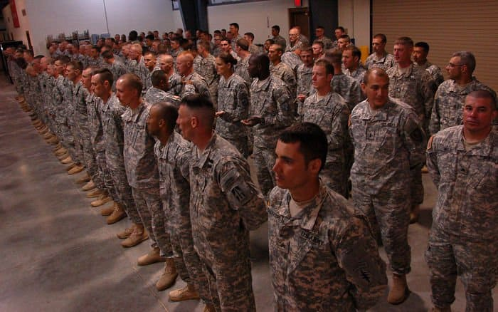 More than 110 Soldiers and Airmen were awarded the Air Assault Badge at Camp Atterbury Joint Maneuver Training Center after completing the grueling 10 day Air Assault Course.