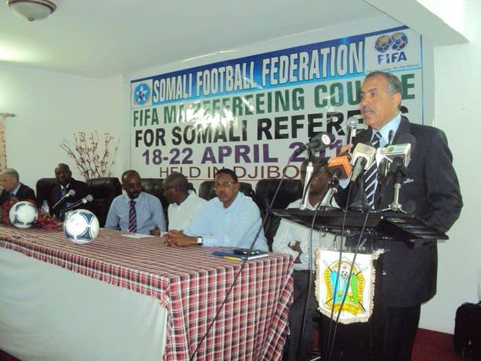 Ahmed El Shenawi FIFA RDO in Qahiro