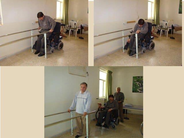 Handicaped residents of Ashraf 2003