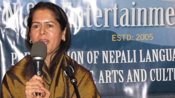 Kamala Prasai at 6TH Anniversary