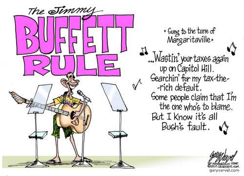 Obama Invokes Jimmy Buffet Rule - It is Bushs Fault