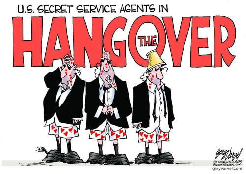 Secret Service Caught With Pants Down - Literally!