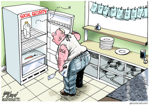 The Social Security Fridge Is Still Running, But Theres Not Much Inside