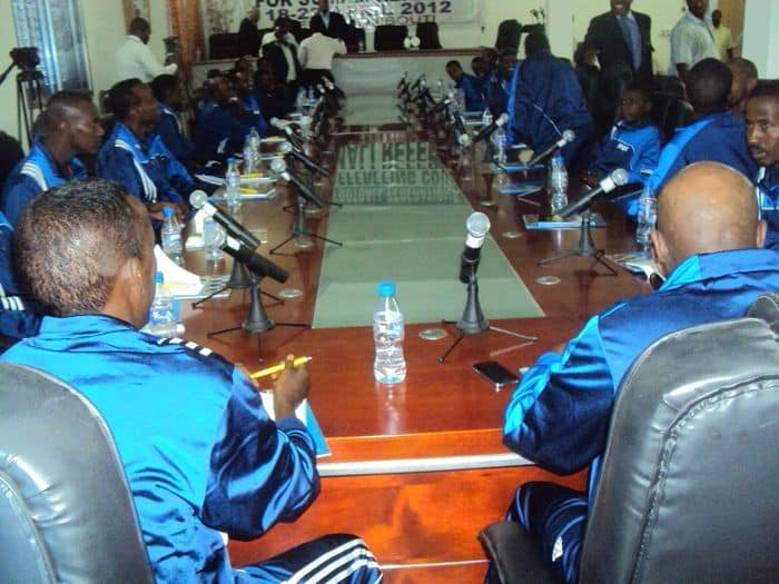 referees attend course
