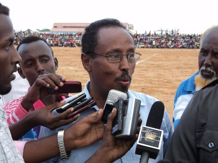 Former player Abdullahi AliShire