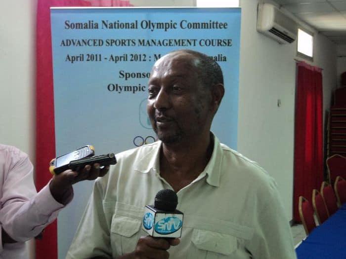 NOC Secretary GeneralAbdullahi Ahmed Tarabi