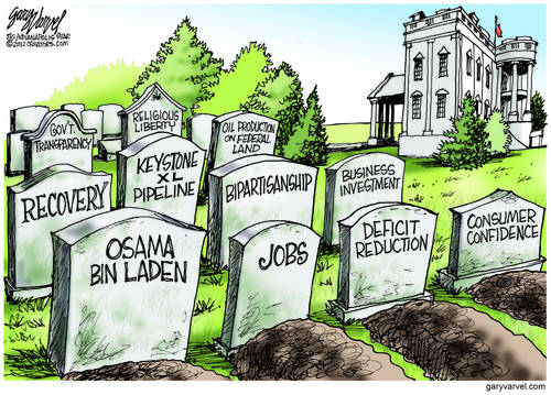 WhiteHouse Graveyard Running Out Of Space Fast. Another Four Years May Require Expansion