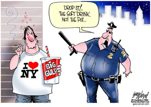 New York Cops Switch Surveillance From Muslims And Pot, To Sodas