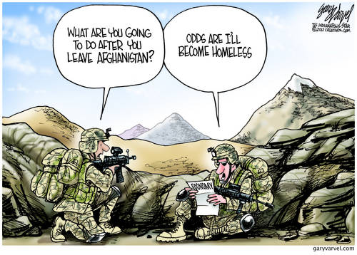 Military Men and Women Fight For Freedom To Become Homeless