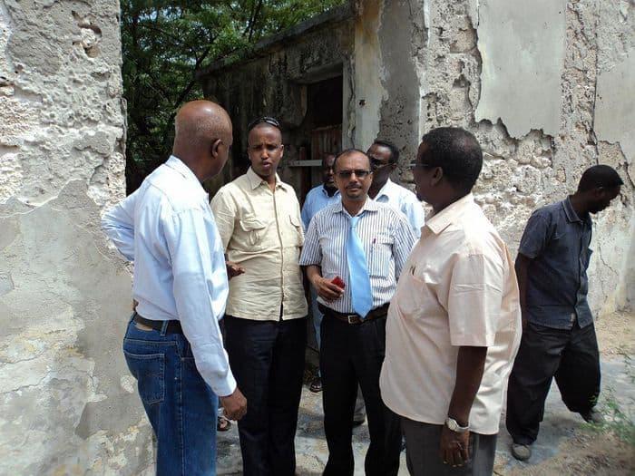 p visit a sporting facility in Mogadishu.