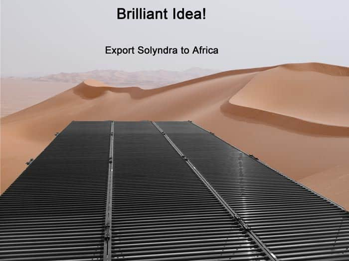 solyndra for africa