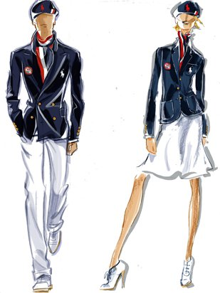 2012 London Olympics USA Fashion Ralph Lauren
