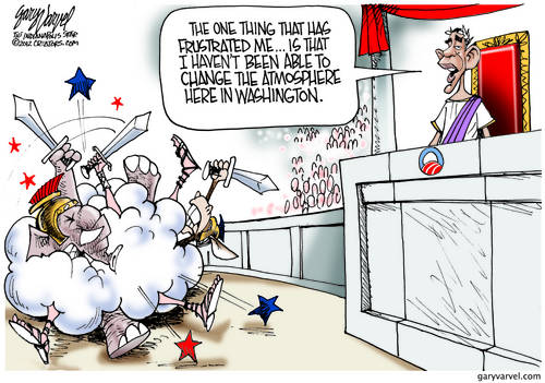 Emperor Obama Sad About The Impossible Change