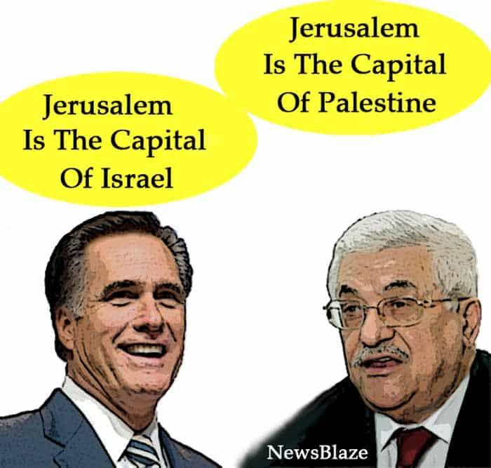 jerusalem is the capital of