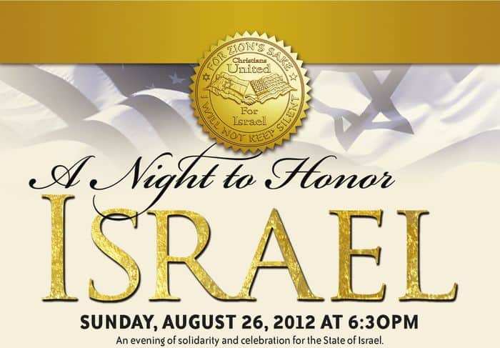 A Night To Honor Israel in Los Angeles