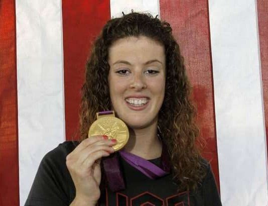 Allison Schmitt homecoming Canton Gold Medal