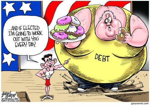 Unafraid Of Its Massive Size, Ryan Pledges To Take On Democrat Debt