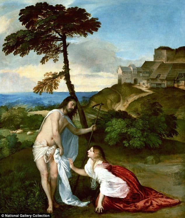 jesus married titian