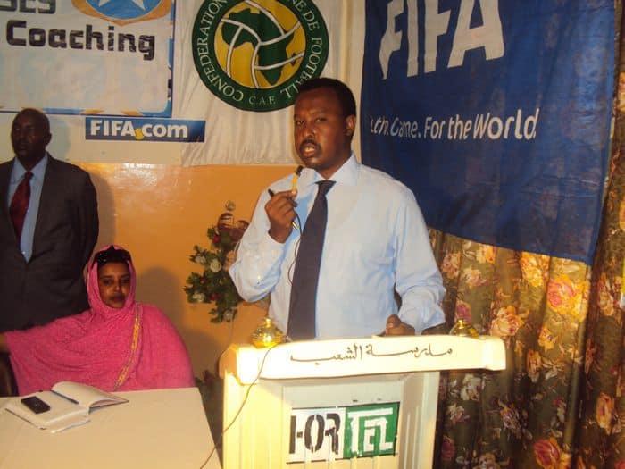 SFF Secretary General Abdi Qani Said Arab