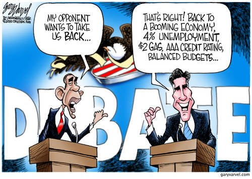 Obama And Romney Press On Weak Points, Rebuff Pressure