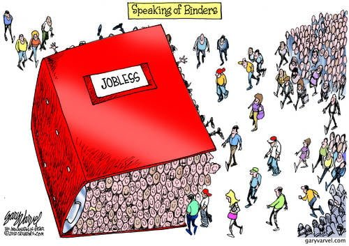 We Brought You Binders Full Of People Mr President, But You Ignored Them