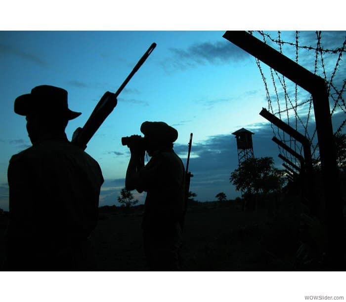 Soldiers on Indo Bangla Border