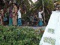 BSF Soldiers Frisk People At Sahebganj Village