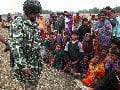 BDR Soldier With 213 Bangladeshis