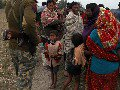 BDR Soldier Talks To Stranded Bangladeshis