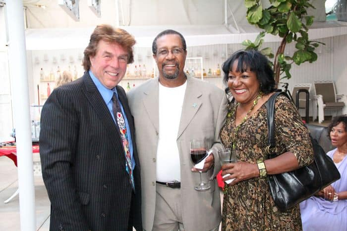 Peter Allman with Ron Brewington and Wife