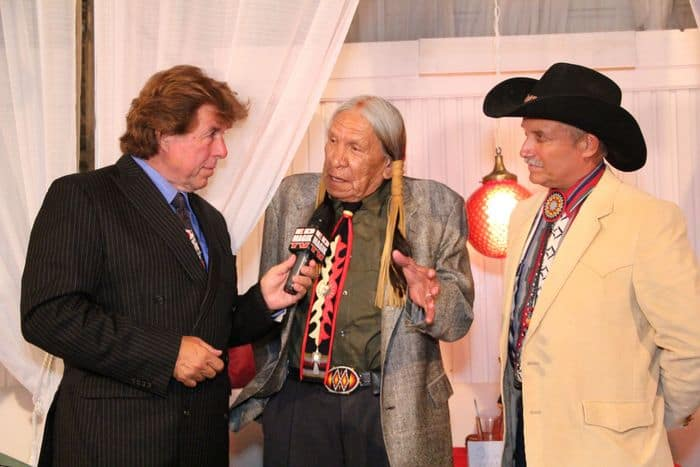 Peter Allman with Saginaw Grant and Randal Massaro