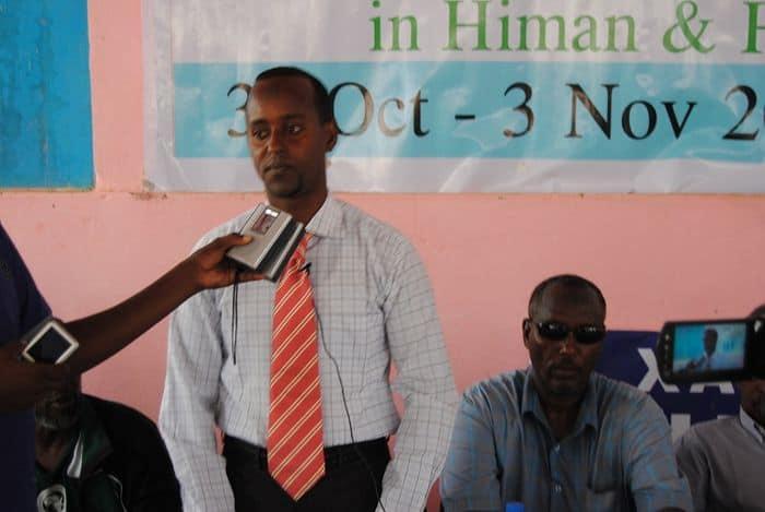 SFF Education Officer Ali Mohamed Ahmed