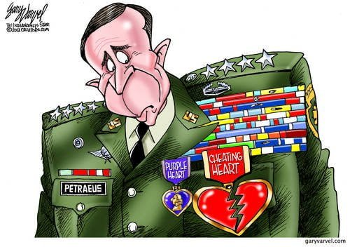 Sadly, General Petraeus Gets Another Medal, But Not An Honor Like The Others