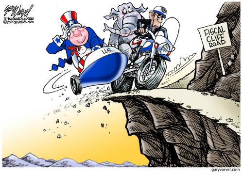 Editorial Cartoons by Gary Varvel - gv2012121125dAPC - 25 November 2012