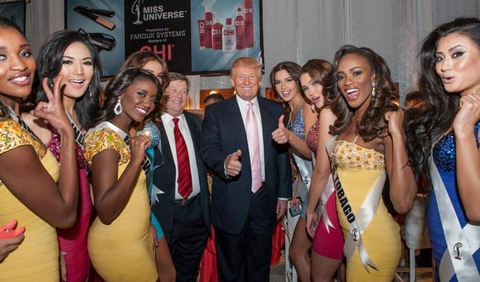 Donald Trump Miss Universe Contestants