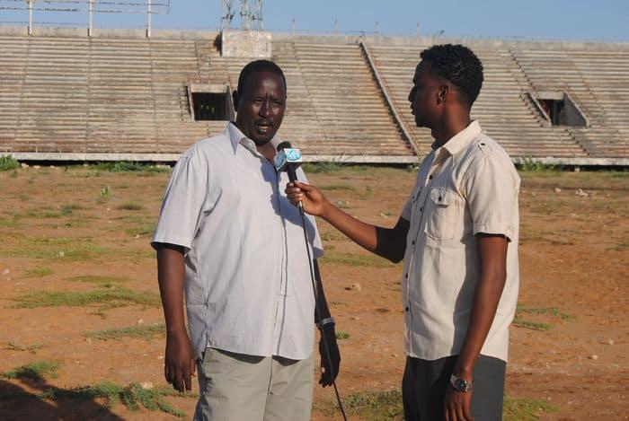 Executive committee member Ali Abdi Mohamed