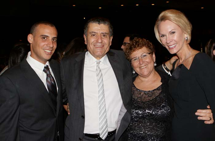 FIDF Cheryl Saban Mirima Peretz Haim Saban and guest Photo OrlyHalevy