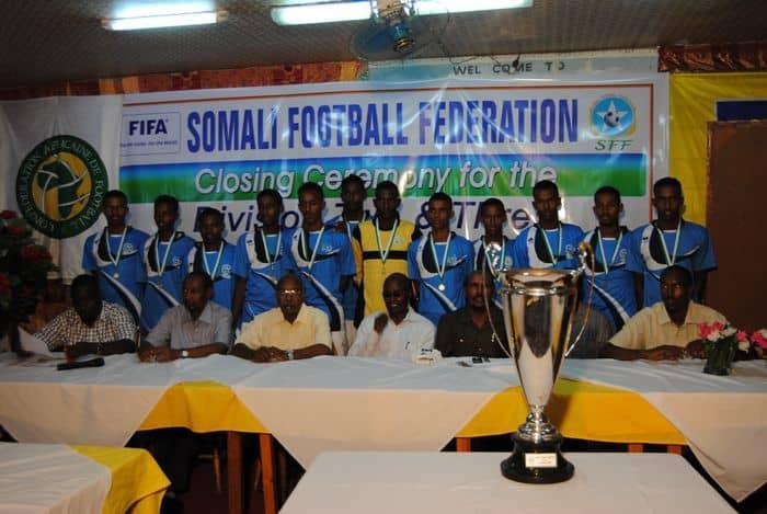 Mogadishu city FC who won division B league04